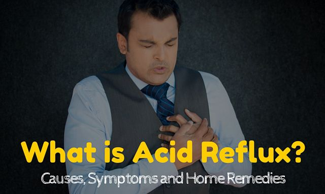 Everything you need to know about acid reflux - what is it, what are its symptoms and some effective home remedies for acid reflux.