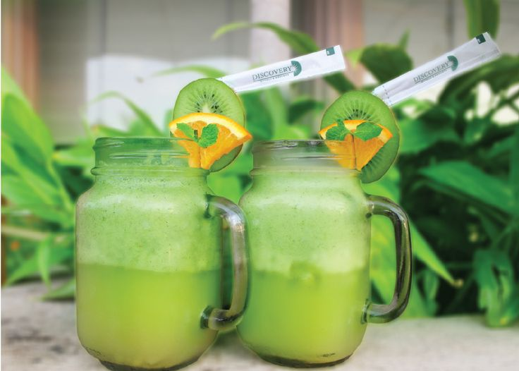 The Green Freeze  Power you through your morning with this delicious green mocktail. This healthy beverage is packed with vitamins, minerals and a delicious flavor! Raise a glass with this yummy mocktail perfect for busy mornings