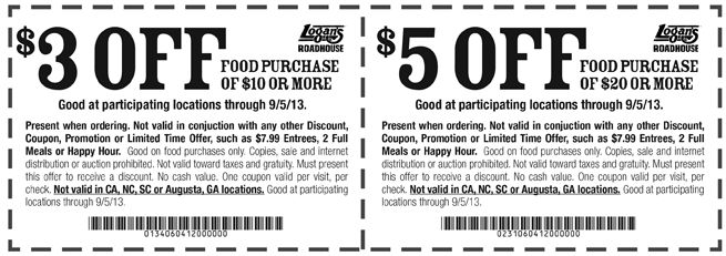 Coupons restaurant caf