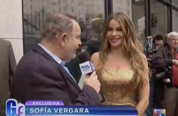 Entrevista A Sofia Vergara Luego De Recibir Su Estrella En Hollywood En 'El Gordo Y La Flaca' #Video