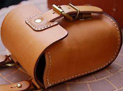 Rakuten: Vegetable tanning leather belt pouch made by japanese craftman[nouki]