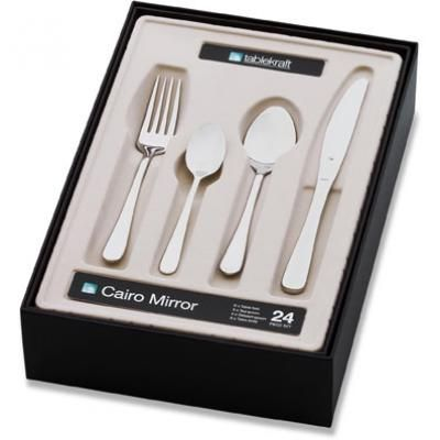 Picture of Cairo Mirror Cutlery Set 24pc