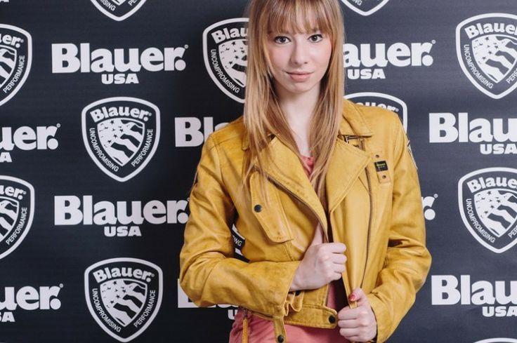 Larissa Guerrini for Blauer USA SS 2014