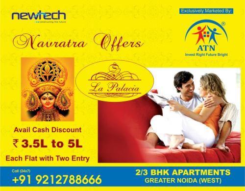 What has made Newtech La Palacia Greater Noida west a popular residential choice. http://www.atninfratech.com/newtech-la-palacia/