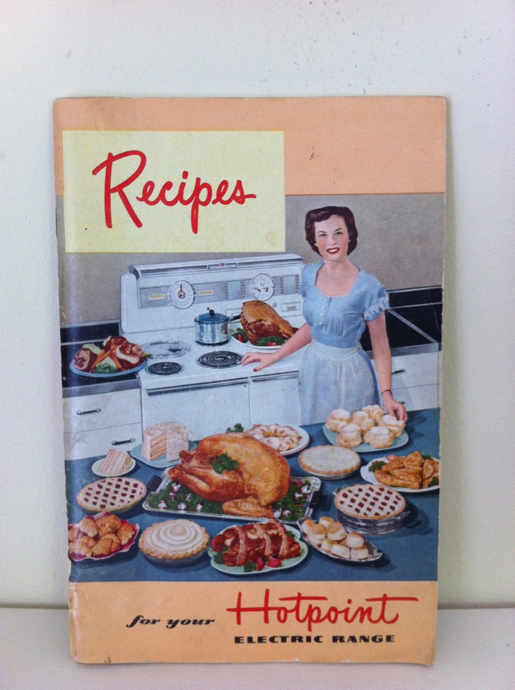 Betty Crocker and Hotpoint Range Cookbooks