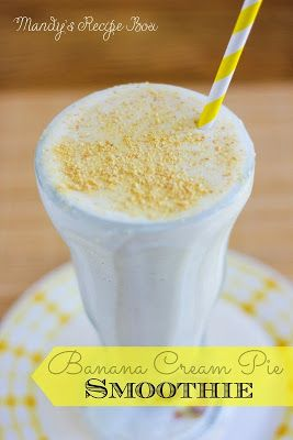 This Pina Colada Smoothie makes you want to lie on a beach with the sun warming you up while you enjoy the ocean breeze.