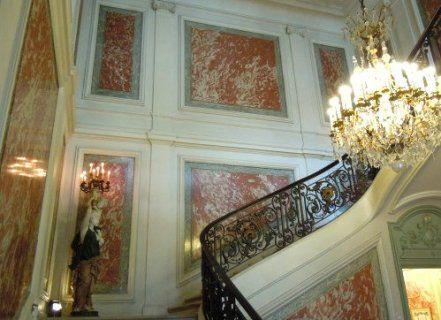 Le Ministère de l'intérieur, place Beauvau. Paris 8e