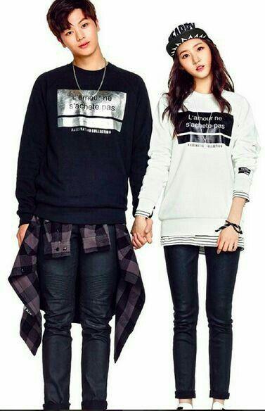 SungJae with Kim Sae Ron