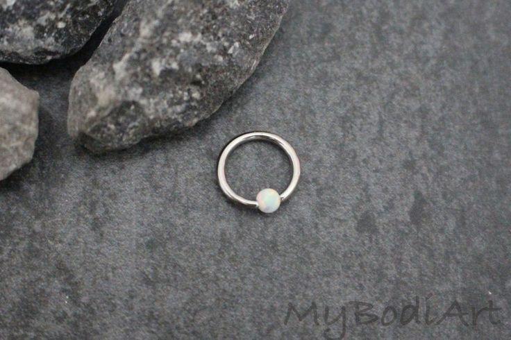 Opal Rook Ring at MyBodiArt