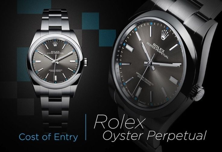 Cost Of Entry: Rolex Watches