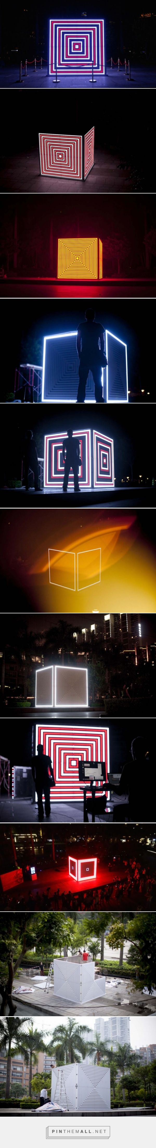 Light and Sound Cube Installation – Fubiz™ - created via http://pinthemall.net