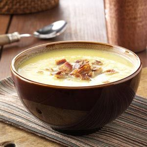 Curried Acorn Squash Soup    This is hands down one of my favorite recipes. I usually add corn and/or fresh banana peppers for a little crunch