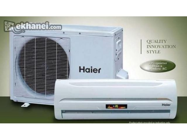 Haier air conditioner 1.5 Ton Split Good condition