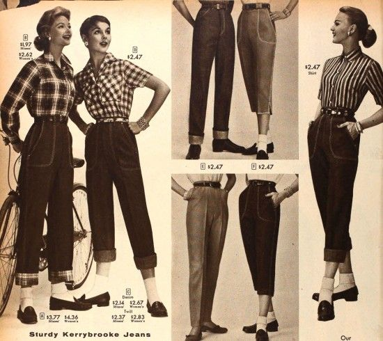 Jeans, jeans, jeans !