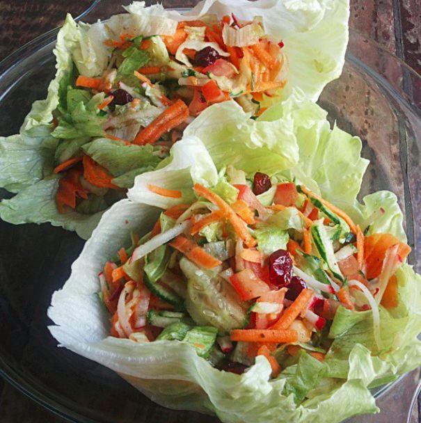 Salada Tropical Deliciosa - Treino, Nutrição e Beleza