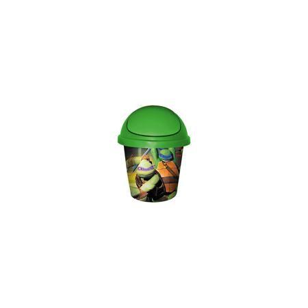 """Little Angel Мусорная корзина круглая 7л. """"Черепашки ниндзя"""", Little Angel, зеленый  — 355р.  Мусорная корзина круглая 7 л """"Черепашки ниндзя"""", Little Angel, зеленый изготовлена отечественным производителем . Выполненная из высококачественного пластика, устойчивого к внешним повреждениям и изменению цвета, корзина позволит не только поддерживать чистоту, но и украсит детскую комнату своим ярким дизайном. По бокам корзины с помощью инновационной технологии нанесены картинки, изображающие…"""