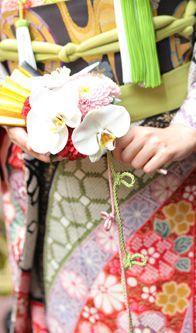 扇子フラワー flower for Sensu