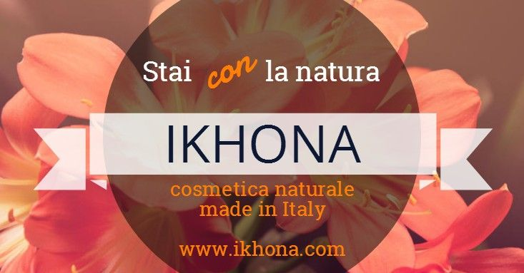 IKHONA, cosmetica naturale made in Italy