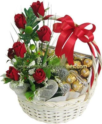 Send This Ferrero Rocher And Red Rose That Stunning Of 12
