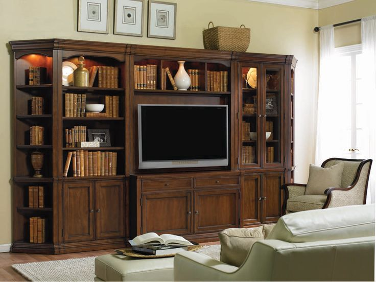 Cherry Creek Entertainment Wall | Hooker Furniture | Home Gallery Stores