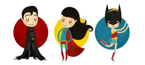 XD: Costumes, Superhero Trinity