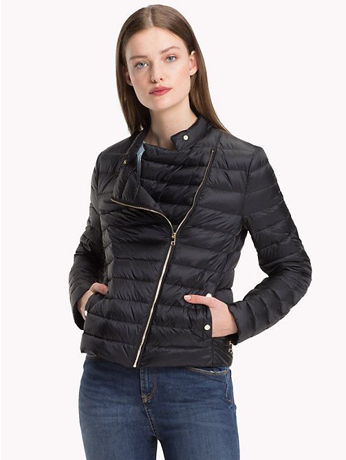 1b289ca5f1f6 TOMMY HILFIGER Responsibly Sourced Down Jacket - BLACK BEAUTY - TOMMY  HILFIGER Sustainable Evolution - main