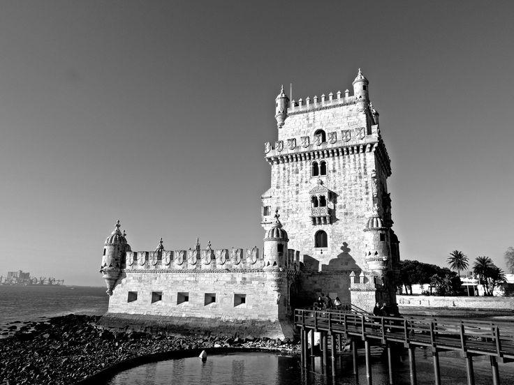 torre de belém BW by rui mendes on 500px
