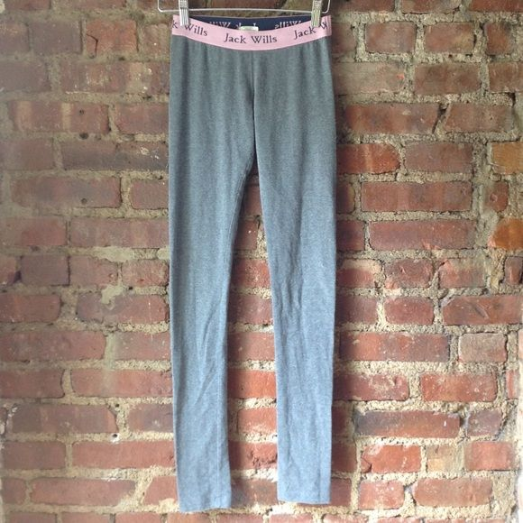 Jack Wills grey leggings Super comfy Jack wills Pants Leggings