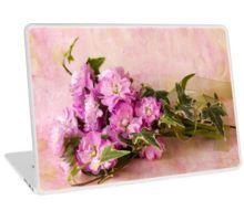 Laptop Skin. #stocks #scentedstocks #pinkstocks #pinkscentedstocks #stockflowers #pinkstockflowers #flowersandivy #flowersandribbon #flowers #pinkflowers #sandrafoster #sandrafosterredbubble
