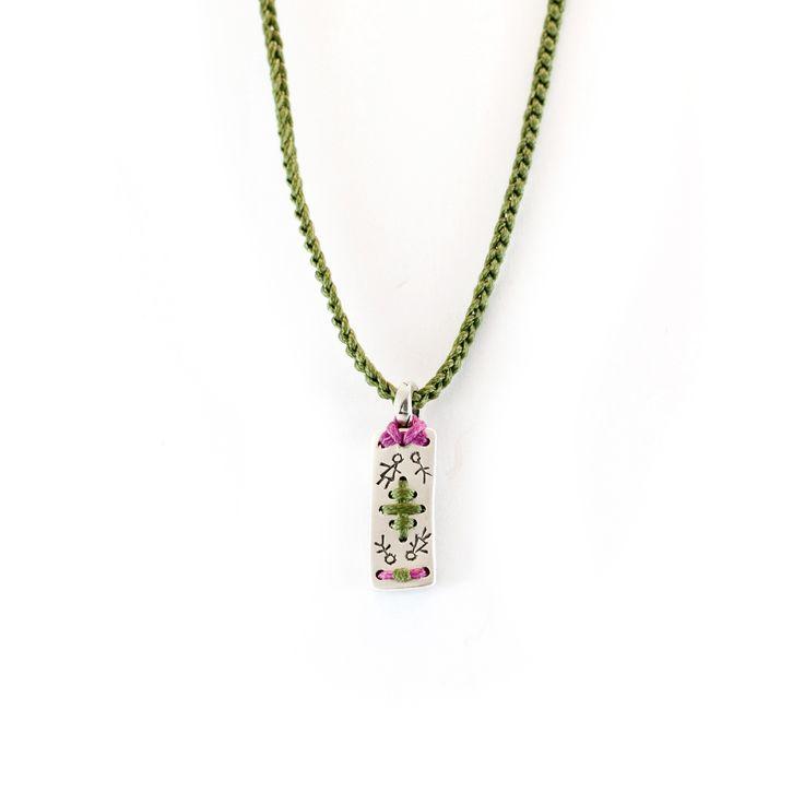 Babylonia necklace #finesilverjewelry #Babylonajewelry #AIBIJOUX #menjewelry