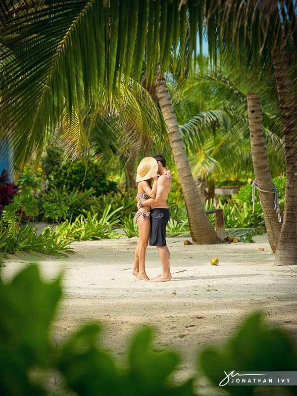 Tropical Destination Engagement Photos