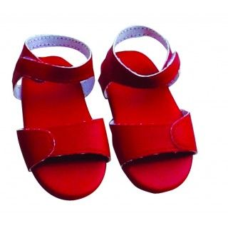 Seaway Sandles: Maplelea red sandals – every girl needs a pair, just for fun!  These strappy flat shoes have a Velcro closure at the ankle.Includes a journal page about the St. Lawrence Seaway.