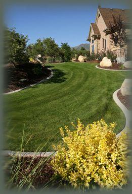 Concrete Curbing | Landscaping Boise | Licensed Landscaper | Sod Installation | Landscaping Service