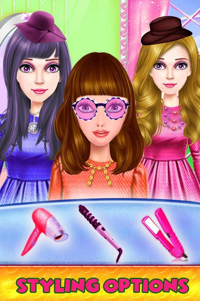 Princess Hair Salon Games Free For Girls 2018 For Android Apk Princess Hairstyles Hair Salon Games Girl Hairstyles
