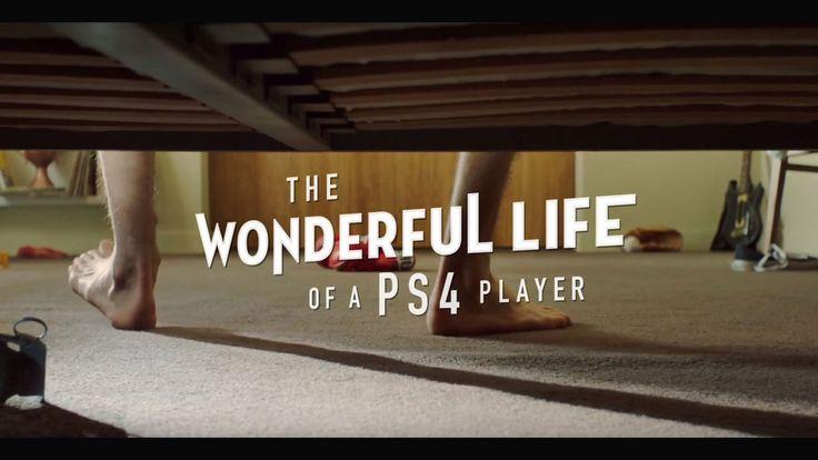 Рекламный ролик от Sony: Замечательная жизнь владельцев PlayStation 4 (PS4)