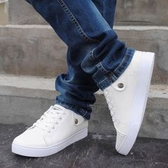 Англии мужская обувь, чтобы помочь отлива мужской корейской версии повседневная обувь, спортивная обувь уличные танцевальные туфли белые парусиновые туфли специальное предложение бесплатная доставка