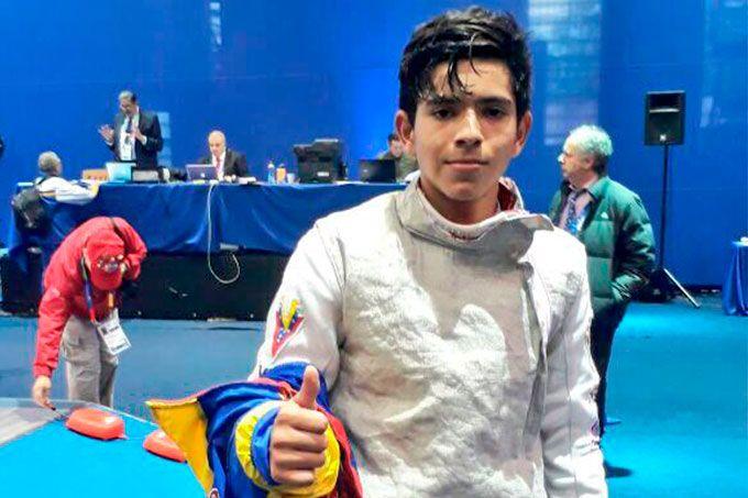 Esgrimista Andrés Argote ganó medalla de oro para Venezuela #Deportes #Ultimas_Noticias
