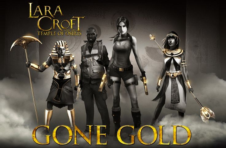 Lara Croft Discovers Gold in the Temple of Osiris