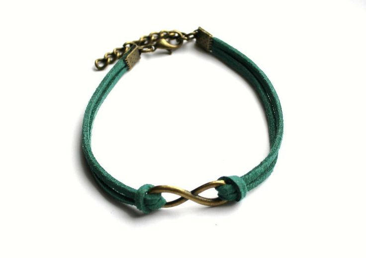Strap Infinity bracelet  from Especially for You by http://en.dawanda.com/shop/slicznieilirycznie