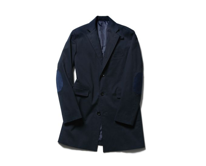 SOPHNET. COTTON CHESTER FIELD COAT