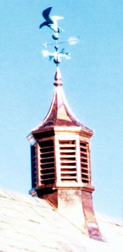#GlendennyCupola Beach Sheet Metal Company offers a beautiful line of cupolas. #BeachSheetMetal #BestQuality