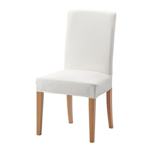 HENRIKSDAL Stol IKEA Stolsbenen är gjorda av massivt trä som är ett slitstarkt naturmaterial.