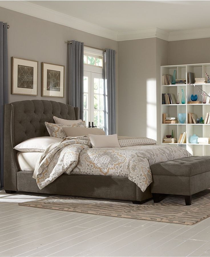 Lesley California King Bed - Beds & Headboards - Furniture - Macy's