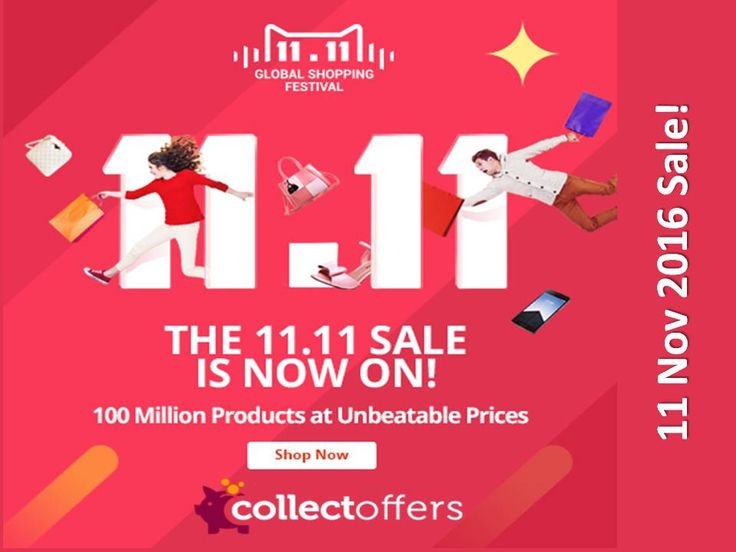 Exclusive #11_11_Sale, #Deals at http://CollectOffers.com   #Hong_Kong Pick any branded products save up to 97% OFF http://ph.collectoffers.com/11-11-sale