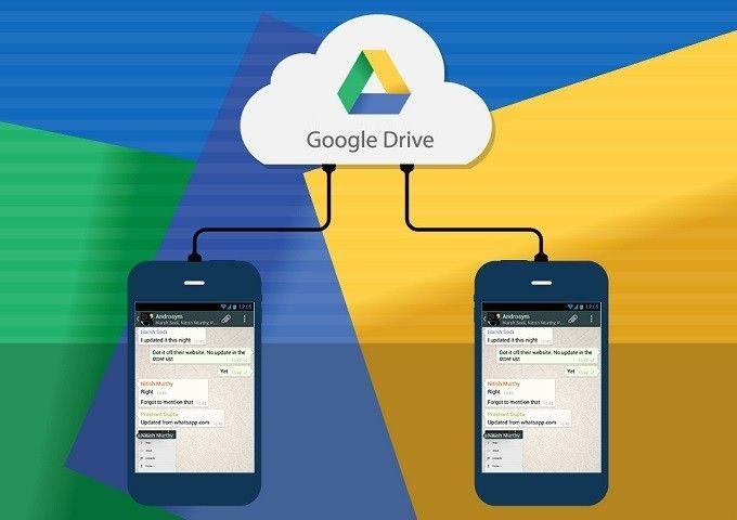 WhatsApp'a Google Drive Yedeklemesi Geliyor