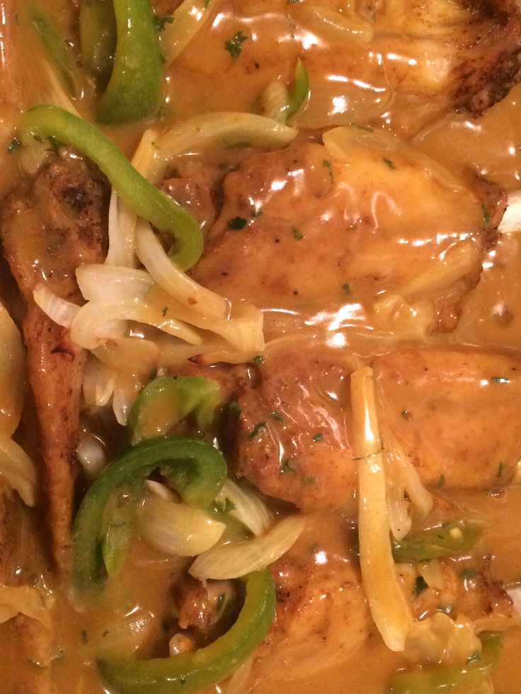 Bake Curry Turkey Wings