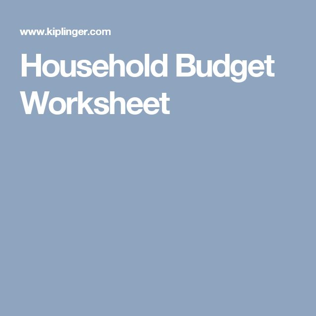 Keith Weiss, CFP?® on Twitter: Great free household budget ...