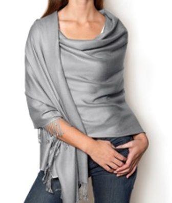 Pashmina shawls...warm, versatile and elegant...- love the colour