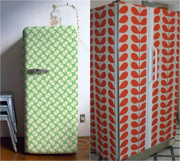 как сделать старый холодильник новым фото работа