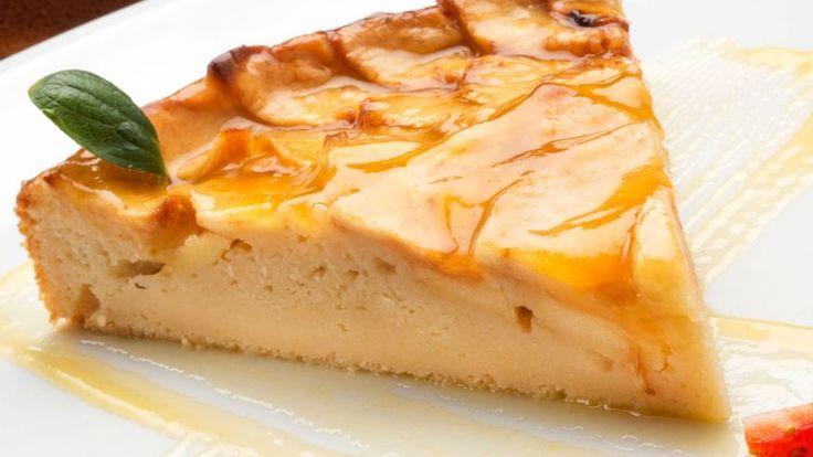 Tarta de manzana - Presentación